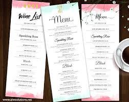 Fancy Flyers Wedding Menu Card Template Gold Damask Place Ideas Fancy
