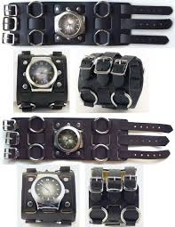 wide leather cuff watch band google search