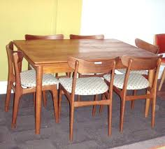 dining room incredible danish modern teak chairs kitchen indoor simple remodel parson head gany nailhead