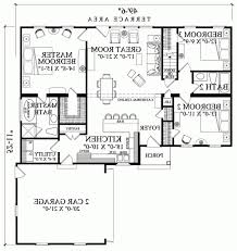 ranch home plans with great room elegant 1445 sq ft valleydale by william poole floor plan