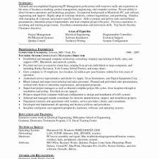 Electronics Technician Resume Samples Electronic Technician Resume Sample Pdf New 13 14 Electronics