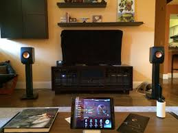 kef ls50 stands. got my new skylan stands today. i was skeptical but they did add a good amount of low end umpfh. still playing with positioning. kef ls50 7