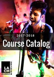 Los Angeles College Of Music Catalog 2017 2018 By Lacm Los Angeles