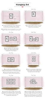 dos and don ts of hanging art tips measurements on wall art hanging height with do you know the right height for hanging art pinterest hanging