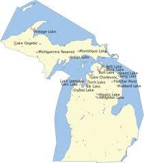 Loon Lake Depth Chart List Of Lakes Of Michigan Wikipedia