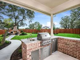 Brick Kitchen Floors Contemporary Porch With Outdoor Pizza Oven Exterior Stone Floors