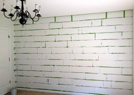 Small Picture Wall Designs With Tape Stagger Diy Project Lauries Herringbone