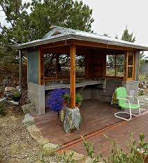 building an outdoor kitchen 1 concrete sink and countertop