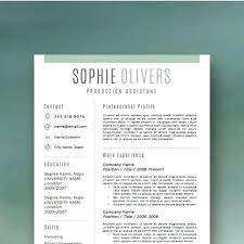 Modern Resume Template Free Download Best Modern Resume Template