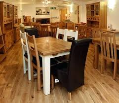 oak wood dining table solid oak dining furniture country style oak finish wood round dining table