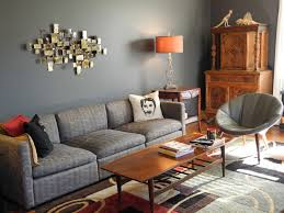 Orange And Blue Living Room Painting Ideas For Living Room Living Room Blue Gray Knoll Pfister