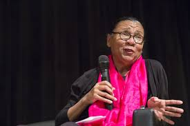 bell hooks at the new school the new school public programming  bell hooks at the new school in 2013 photo spencer kohn 2013
