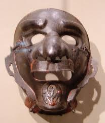 japanese for mask file japanese armored mask asian art musem sf jpg wikimedia commons