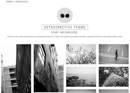 Tumblr Photography Themes Minimal Free 4 Column Tumblr Theme By Themestatic