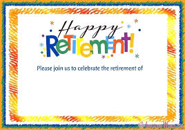 Retirement Invitations Free Retirement Party Invitations Zoli Koze