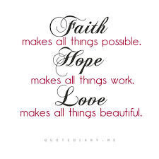 Hope And Faith Quotes New Love Faith Hope Quotes Delectable Inspirational Gifts And Quote Of