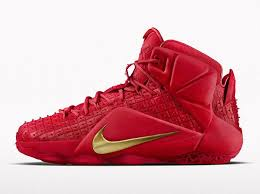 lebron red shoes. nike brings red rubber city lebron 12 ext to id lebron shoes 3