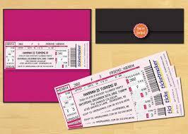 Concert Invite Template 020 Event Ticket Template Delta Airline Concert 1 Movie
