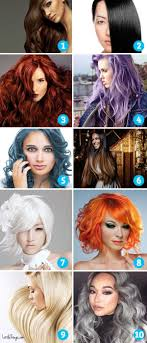 Hair Style Quiz which hair color appeals to you it reveals secrets of your 2799 by wearticles.com