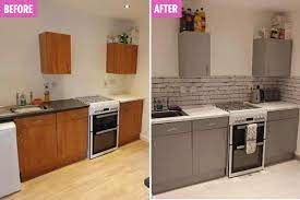 Mum transforms tired kitchen using The ...