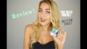 l oréal true match minerals mattifying powder review ingrida g