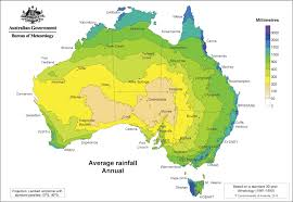 Yearly Rainfall Chart Australia Yearly Annual Rainfall Averages In 2019