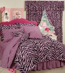 pink zebra leopard safari 8 pc full size comforter set 1 valance