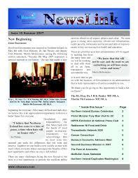 Free Downloadable Newsletter Template Hatch Urbanskript Co
