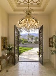 foyer chandeliers modern