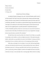 synthesis project synthesis project homosexuality and gay  2 pages doctrinal essay 2 same sex marriage