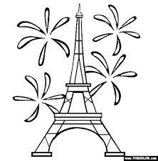 Small Picture Eiffel Tower Coloring Page Free Eiffel Tower Online Coloring