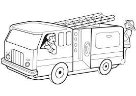 Lovely Fire Truck Coloring Page Dubaitransportme