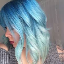 Blue Hair Color Melt And Beautiful
