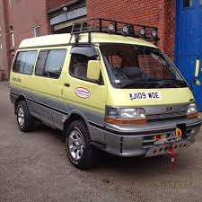 Hiace Hobo - Living in a Toyota Camper Van: Plymouth England to ...