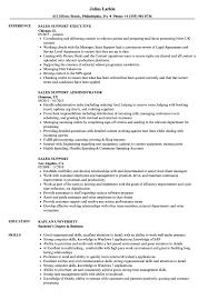 Sales Support Resume Sales Support Resume Samples Velvet Jobs 1