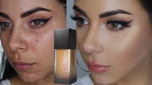 Huda Beauty Faux Filter Foundation Review Wear Test Tinakpromua