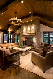 fireplace mantel lighting. comfortable hotel room family rustic with stone fireplace surround mantel ceiling lighting a