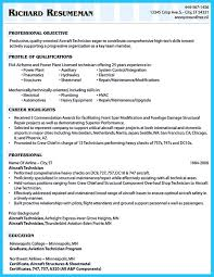 Cv Format For Airlines Job To Arrange An Aviation Resume Is Different From Other Resumes