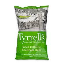 <b>Чипсы картофельные</b> Tyrrells Special K со <b>вкусом</b> сметаны и ...