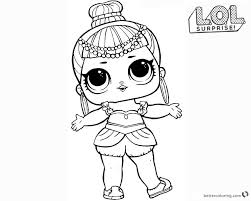 Coloring Pages Of Dolls Lol Surprise Print Out For Free All The