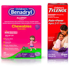 Children S Chewable Tylenol Dosage Chart Benadryl Children Allergy Relief Chewables Grape Flavored 20 Ea Childrens Tylenol Oral Suspension Fever Reducer Pain Reliever Grape 4 Oz 1 Ea