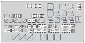 toyota tundra second generation mk2 2010 fuse box diagram toyota tundra second generation mk2 2010 fuse box diagram