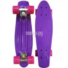 <b>Скейт</b> EcoBalance Cruiser Board Purple Red