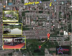 attachai muay thai gym bangkok map with directions