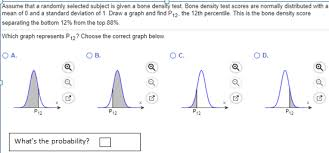 Bone Density Z Score Chart Solved Find The Indicated Z Score The Graph Depicts The