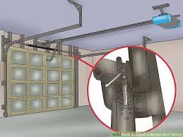 garage doors springsHow to Adjust a Garage Door Spring with Pictures  wikiHow