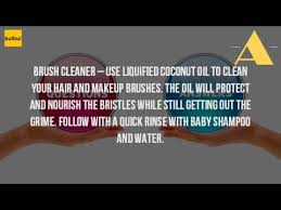 how to clean makeup brushes with coconut oil. how do i clean my makeup brushes with coconut oil? to oil