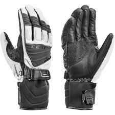 Leki Gloves Size Chart Leki Griffin S Glove Weiß Grau Schwarz Men