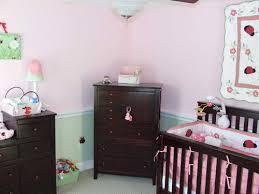 chair rail nursery. Brilliant Nursery Baby Girl Nursery Cherry Furniture Chair Rail With A