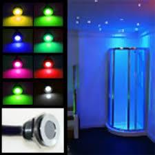 shower led lighting. Mini Colour Changeable LED Plinth / Deck Light (Waterproof IP67, 12vdc) Shower Led Lighting